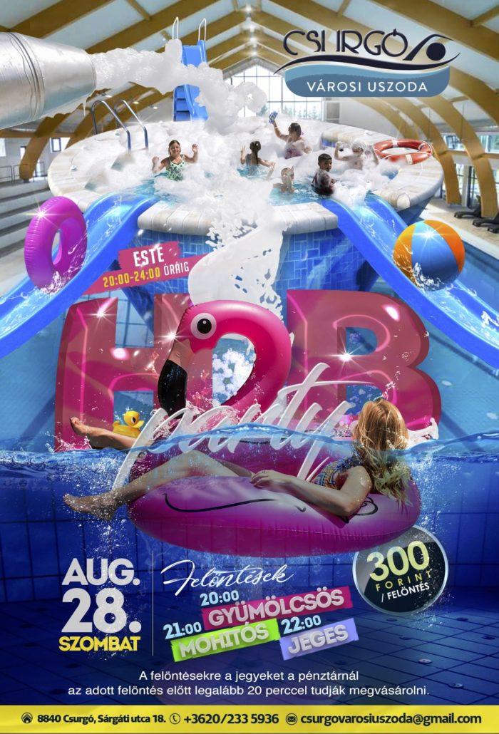 HAB party - 08.28. 22:00 - 24:00