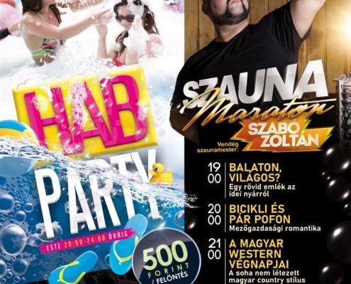 HAB Party és Szauna maraton - 2021.10.09.
